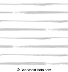 Brushstroke stripes, seamless pattern. Seamless vector...