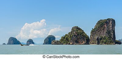 James Bond Island in Phang Nga Bay, Thailand - Beautiful...