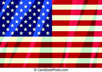 USA flag stars stripes American symbol of freedom, patriot