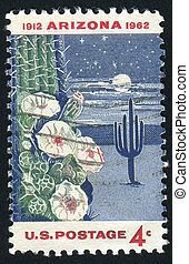 stamp - UNITED STATES - CIRCA 1962: stamp printed by United...