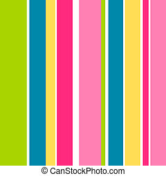Candy Stripes - Seamless tile of candy stripes.