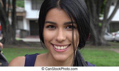 Teen Girl In Suburbs