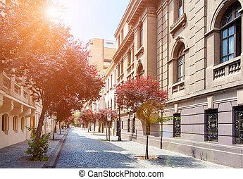 Barrio Paris-Londres in Santiago, Chile - Beautiful historic...