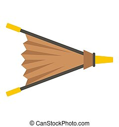 Fire bellows icon isolated - Fire bellows icon flat isolated...