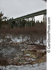 Wentworth Train Trestle - A train trestle in Wentworth, Nova...