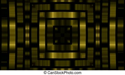 golden square metal background,game