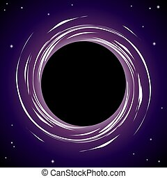 Black hole background