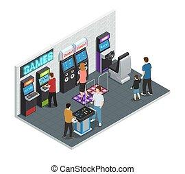 Game Club Interior Concept