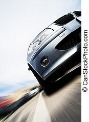 Bewegung, Auto, Bewegen, schnell, verwischen