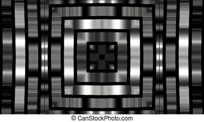 Silver square metal background,game entrance,software...