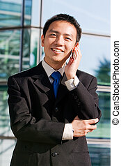 Asian chinese business man - Good looking asian business man...