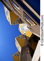Cubic houses in Rotterdam - famous Cubic houses in...