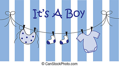 Baby Boy Announcement