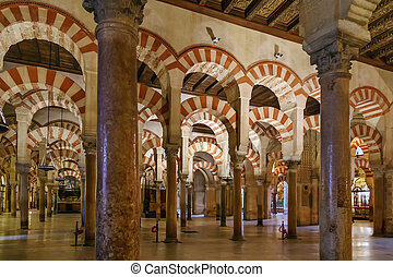 Mosque Cathedral of Cordoba, Spain - Mosque Cathedral of...