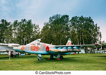 Russian Soviet Armoured Subsonic Attack Aircraft...