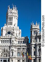 Plaza de la Cibeles Cybele's Square - Central Post Office...