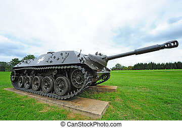 tanque, contratorpedeiro, alemão,  II, mundo, guerra