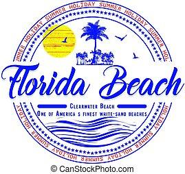 Florida summer t shirt graphic design