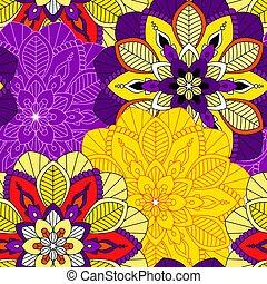 mandala seamless pattern background - Mandala pattern,...