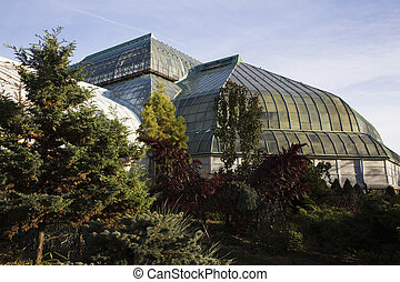 Lincoln Park Conservatory in Chicago, IL.