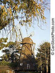 Windmill in Elmhurst, Il - Mt Emblem cemetary
