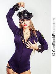 dancer police officer