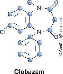 Clobazam benzodiazepine anticonvulsant - Clobazam is a...