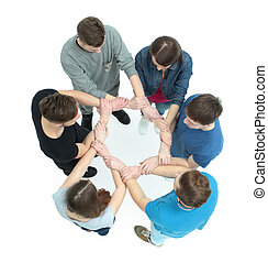 concept of trust and partnership - the team of University...