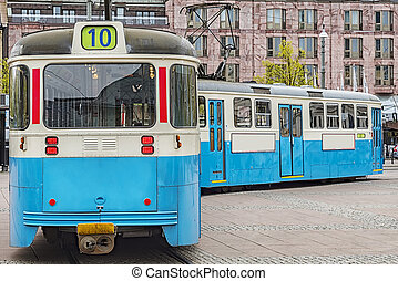 Gothenburg Public Tramcar - One of the iconic trams of...