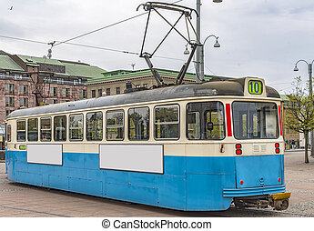 Gothenburg Tram Car - One of the iconic trams of Gothenburg...