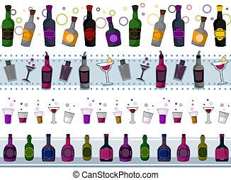 fronteras, bebidas