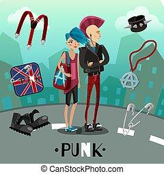 Punk Subculture Composition