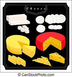 The set cheese