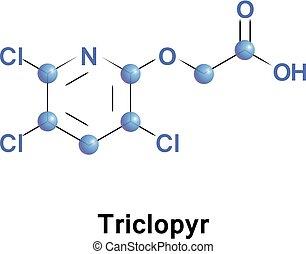 Triclopyr trichloropyridinyloxyacetic acid - Triclopyr,...