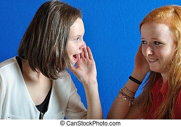 Complicity between two teens