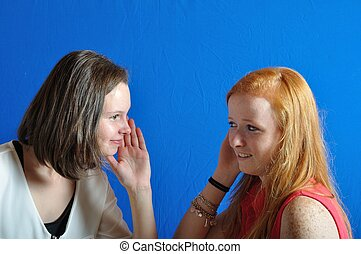 two teens - Complicity between two teens