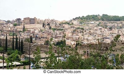 View of a settlement in Jerusalem, Israel