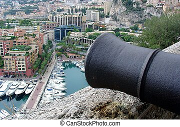 Cannon and Monte Carlo view - Cannon and Monte Carlo