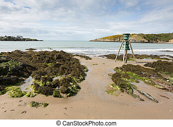 Cemaes bay in Anglesey, North Wales