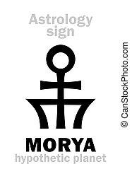 Astrology: planet MORYA - Astrology Alphabet: MORYA,...