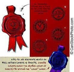 Wax Seal - Award Winner