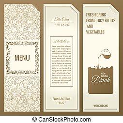 Vector set of design elements labels, icon, logo, frame,...