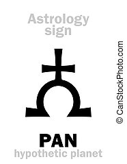 Astrology: giant planet PAN - Astrology Alphabet: PAN,...