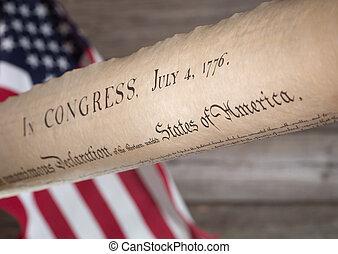 indipendenza, dichiarazione