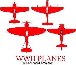 Planes. - Planes of World War 2.