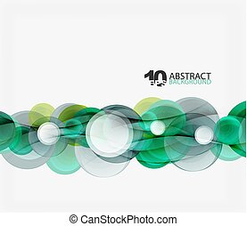 Circle vector background