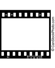 Frame of photographic film ( seamless) - Frame of...