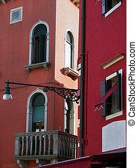 burano street lamp