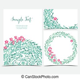 Backgrounds with pink flowers