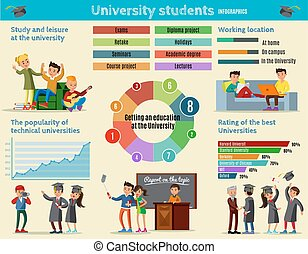 Colorful Education Infographic Concept - Colorful education...